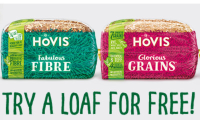 Free Hovis Loaf - 15,000 Available!