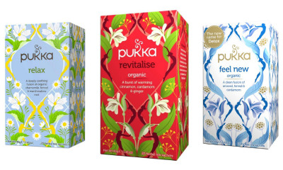 Free Pukka Herbal Tea