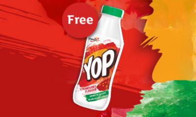 Free Strawberry Yop