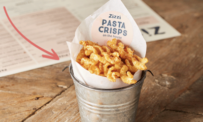 Free Pasta Crisps with your Order