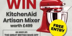 Win a KitchenAid Mixer (Worth £499!)