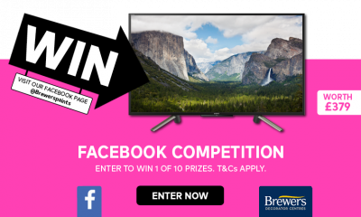 "Win 1 of 10 Sony 43"" Smart LED TV's!"