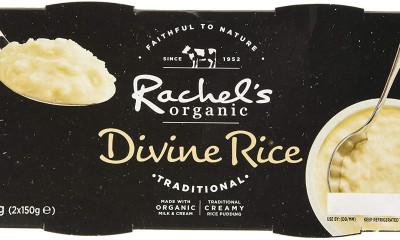 Free Rachel's Organic Rice Pudding