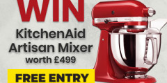 Win a KitchenAid Mixer (Worth £499!)