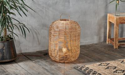 Win a Best-selling Wicker Lamp from Nkuku