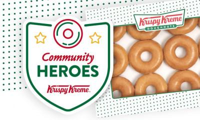 "<span class=""merchant-title"">Krispy Kreme</span> | 50% Off A Dozen Doughnuts for Frontline Workers"