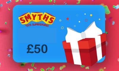 Win a £50 Smyths Toys Voucher