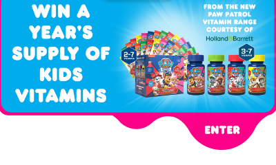 Win a Year's Supply of Kids Vitamins