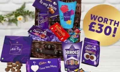 Win a Cadbury Chocolate Basket (worth £30)