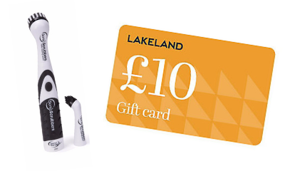 Win a £10 Lakeland Gift Card & Sonic Scrubber
