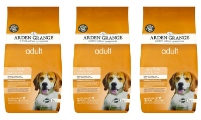 Win Dog Food from Arden Grange
