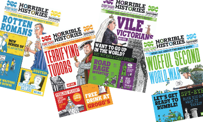 Win a Horrible Histories Signed Book Bundle