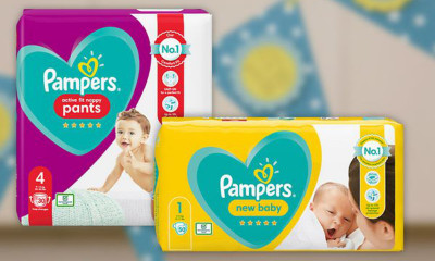Free Pack of Pampers Nappies