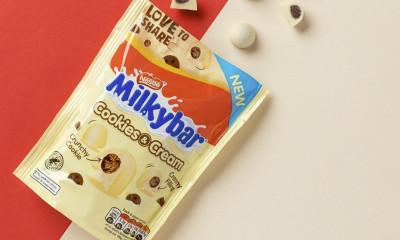 Free Milkybar Chocolate Sharing Bag
