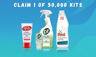 Free Unilever Hygiene Kit - 50,000 Available!