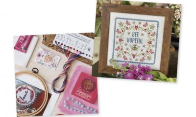Win a Cross Stitch Box from Cotton & Twine