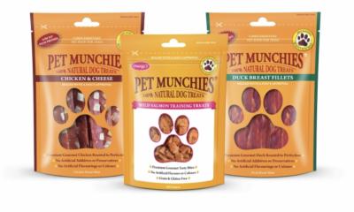 Win a Dog Treats Bundle from Pet Munchies