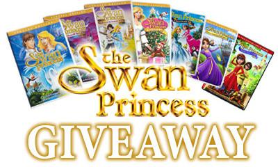 Win a Swan Princess DVD Box set