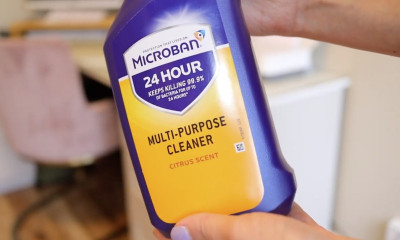 Free Antibacterial Cleaning Spray