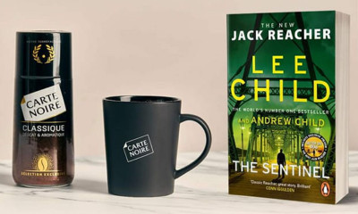 Free Carte Noir Coffee & Jack Reacher Chapters