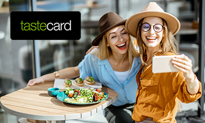 FREE 3 month tastecard – Get 50% off food at thousands of restaurants including outdoor dining