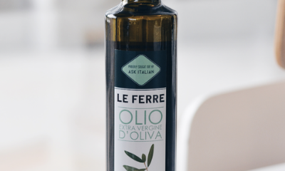 Free Bottle of Olive Oil to Take Home When you Dine In