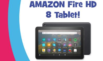 Win an Amazon Fire HD 8 Tablet