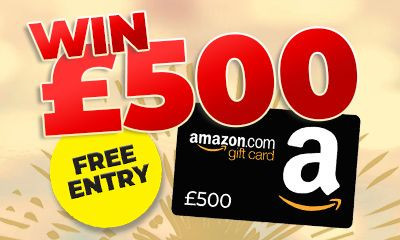 Win a £500 Amazon Gift Card