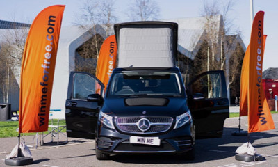Win A Luxury Mercedes Camper Van