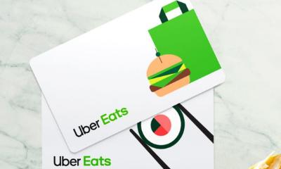Free £5 Uber Eats Vouchers
