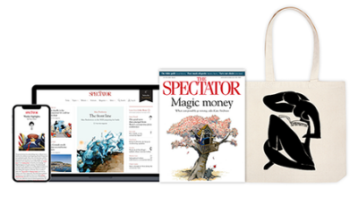 4 Free Issues of The Spectator & Free Tote Bag
