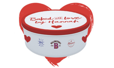 Free Personalised Cake Tin - 10,000 Available!