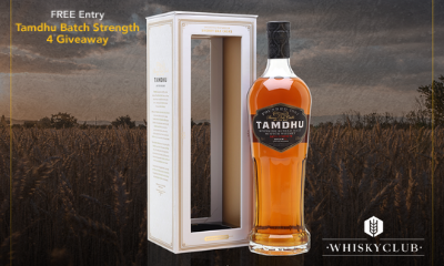 Win a Bottle of Tamdhu Batch Strength Whisky