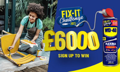Win a £6,000 DIY Voucher With WD-40