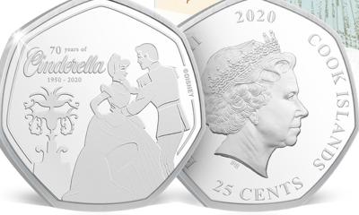 Free Cinderella Disney Coin