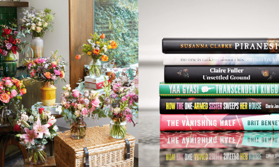 Win Six Months of Bloom & Wild Flowers + Women's Prize for Fiction Shortlisted Books