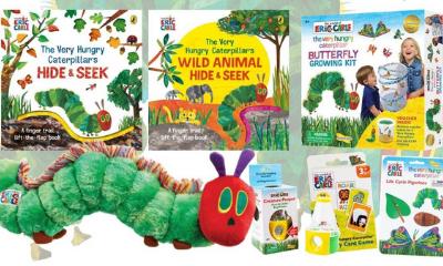 Win a Very Hungry Caterpillar Goodies Bundle