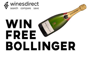 Win a Free Bottle of Bollinger Champagne