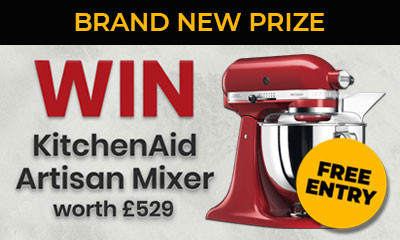 Win a KitchenAid Mixer (Worth £529!)