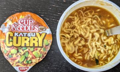 Free Katsu Cup Noodles