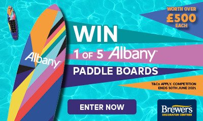 Win 1 of 5 Albany Paddle Boards (Worth Over £500!)