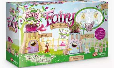Free Fairy Garden Playset