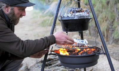 Win a Roadii Firegrill & Gressingham Duck Cooking Set