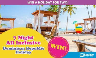 Win a 5-star All-Inclusive Holiday to the Dominican Republic