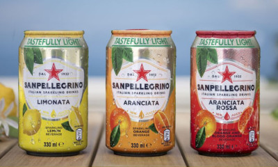 Free San Pellegrino Cans