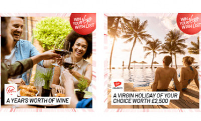 Win a Year's Supply of Wine with Virgin Red's Wish List