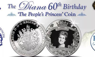 Free Princess Diana 60th Birthday Commemorative Coin