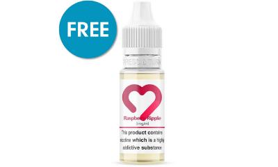 FREE 4 Pack of Vape E-liquids Worth £15