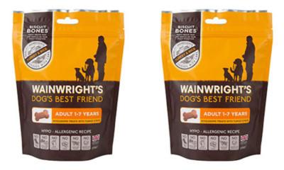 Free Dog Treats from Wainwright's