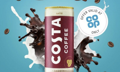 Free Costa Iced Latte Can